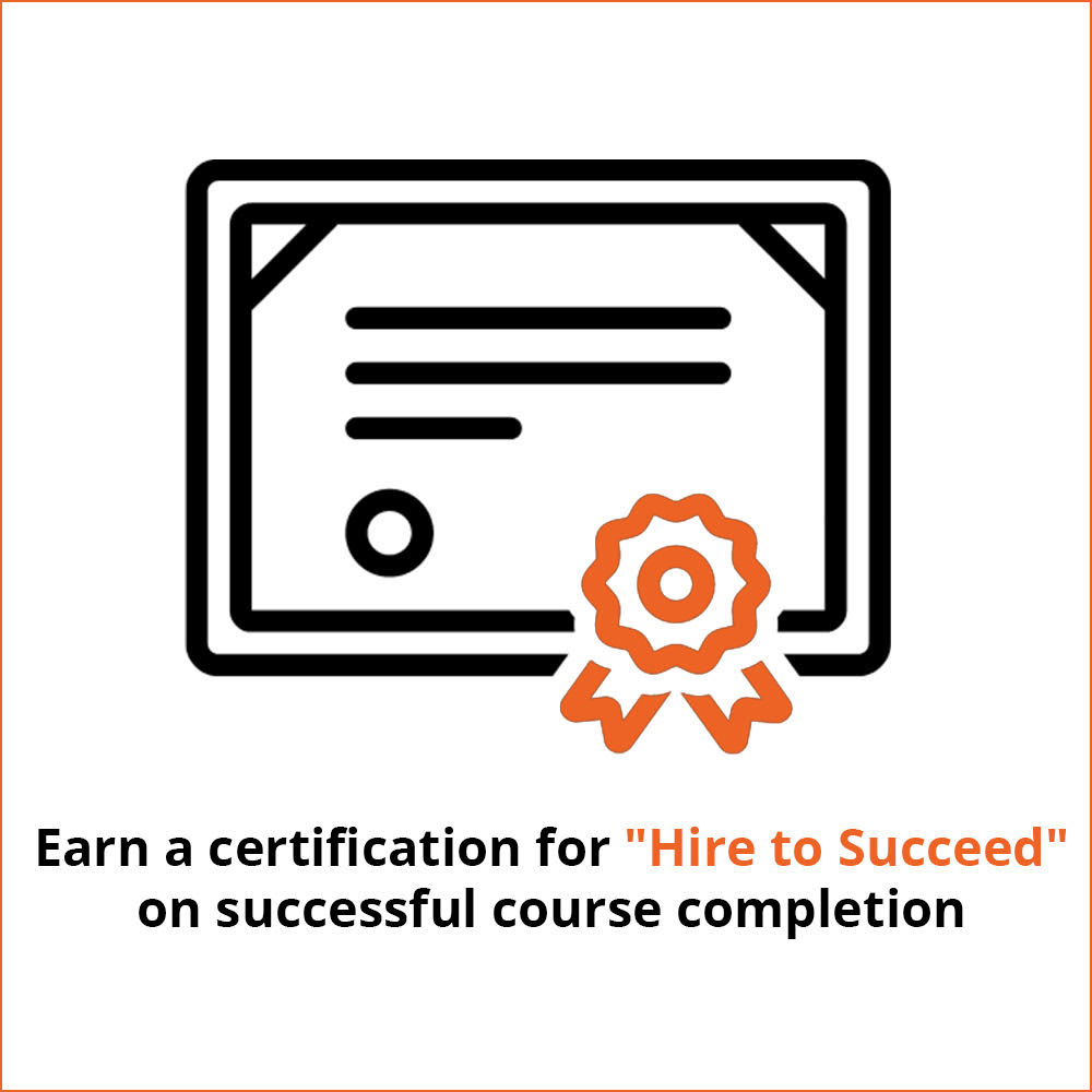 Earn a certification for
